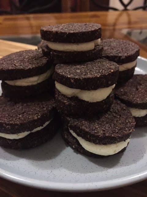 keto oreo cookies