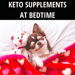 keto supplements before bed