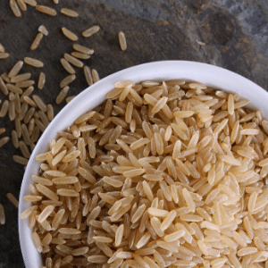 how much carbs does brown rice have