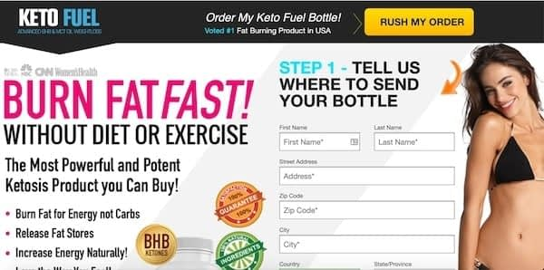 picture of keto fuel review