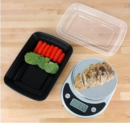 Freshware Compartment Bento Lunch Boxes