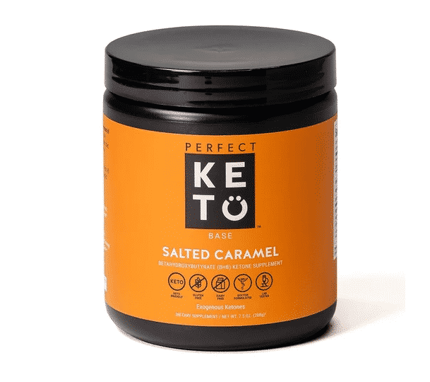 perfect keto salted caramel