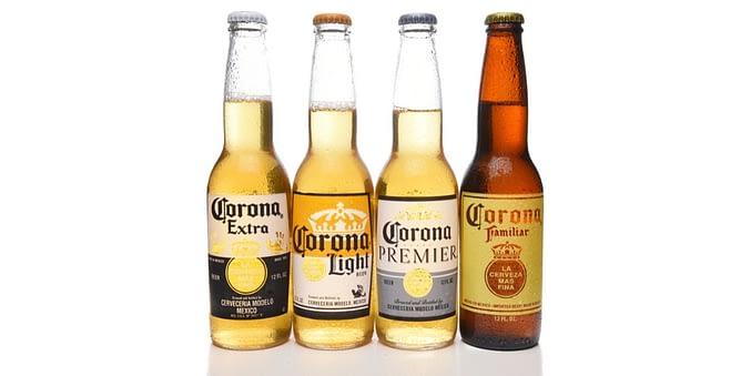 carbs in beer