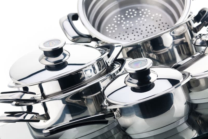 stainless steel cookware safe