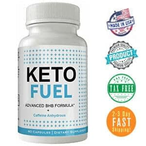 picture of bottle of keto fuel